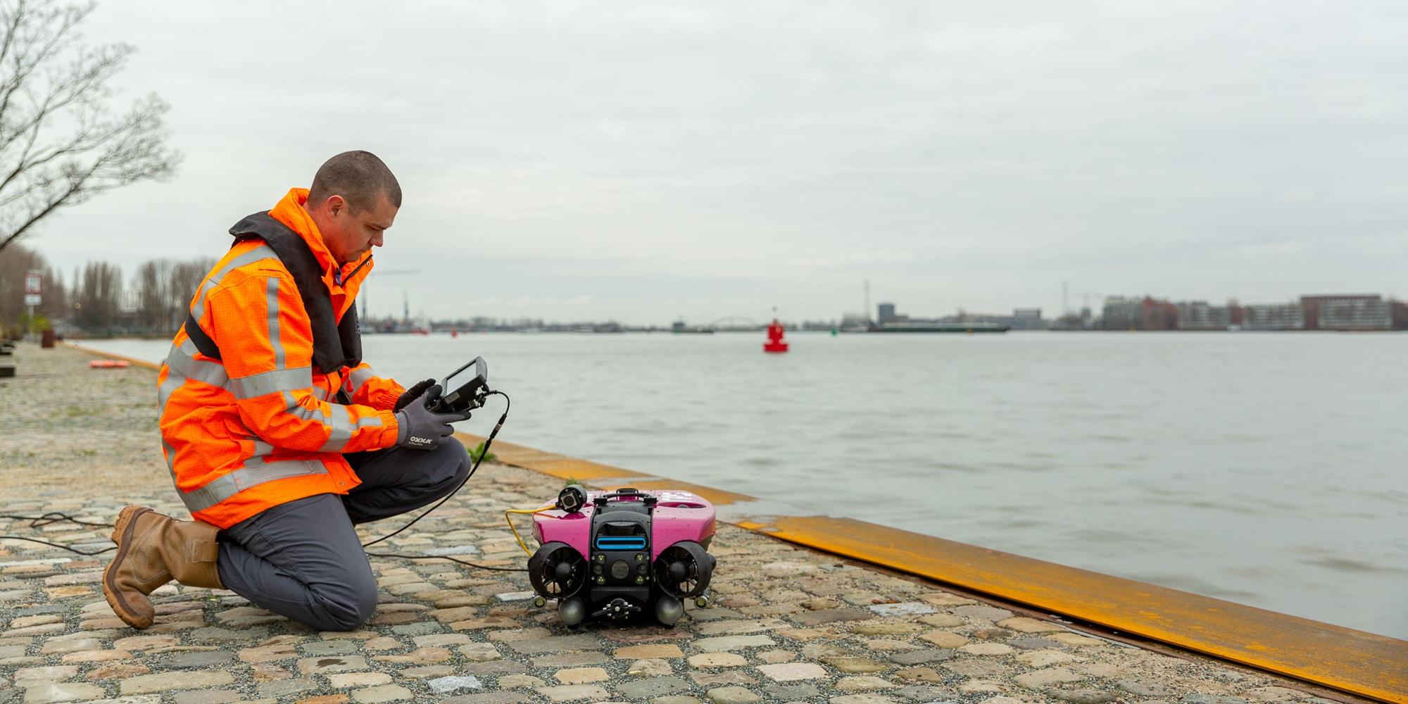 ROV onderwaterinspectie