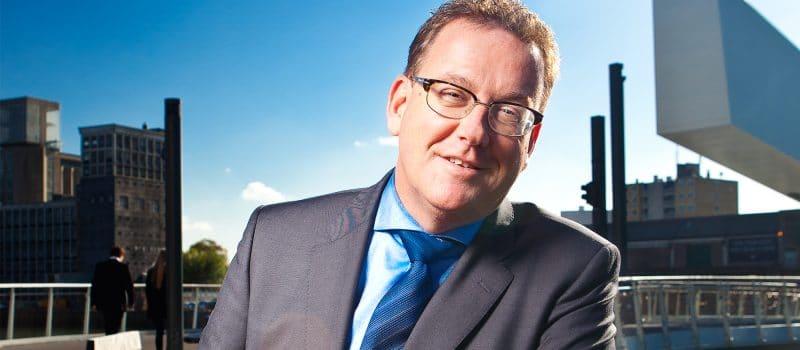 Luuk Prevaes, programmadirecteur Stadshavens Rotterdam