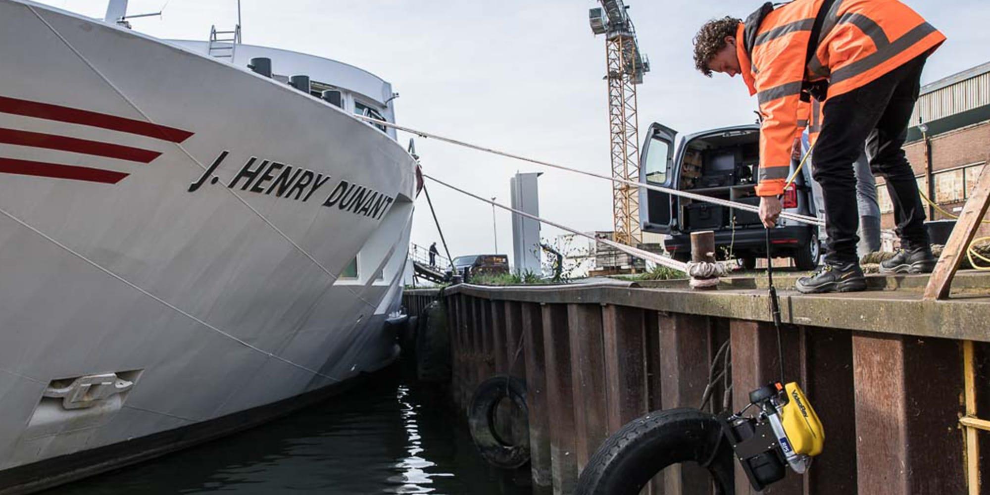 RPS en Hercules voeren onderwaterinspecties uit voor gemeente Utrecht