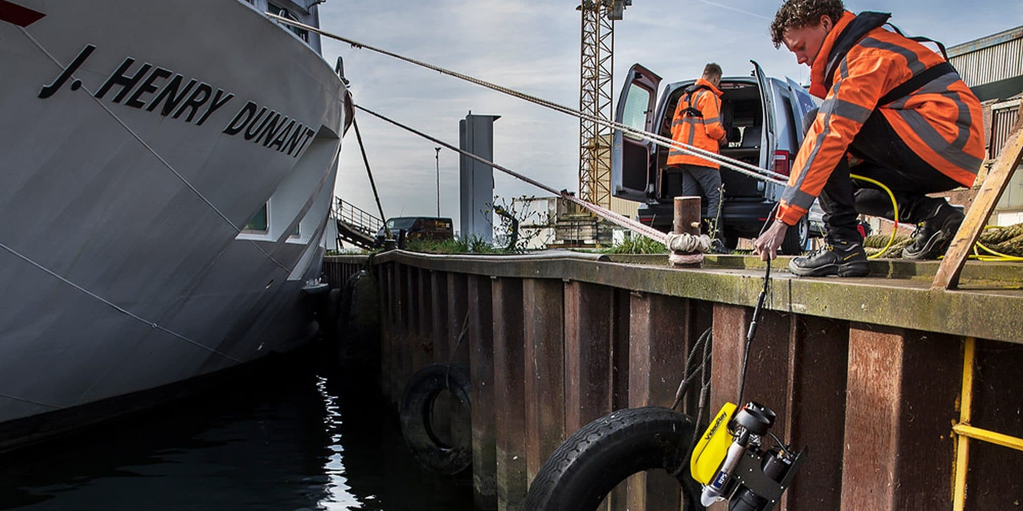 Van vervuilde scheepswerf tot vruchtbare werkplek