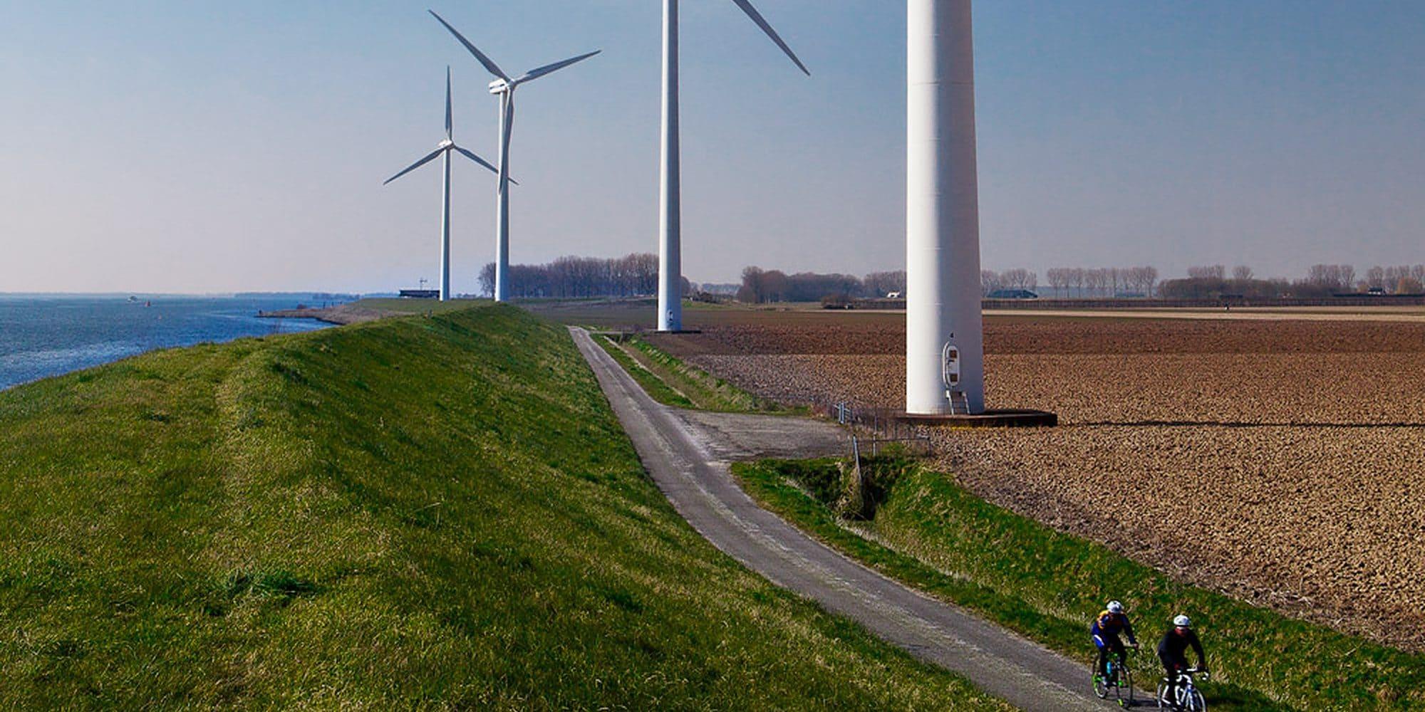 Windpark Krammer buiten oevers van de comfortzone