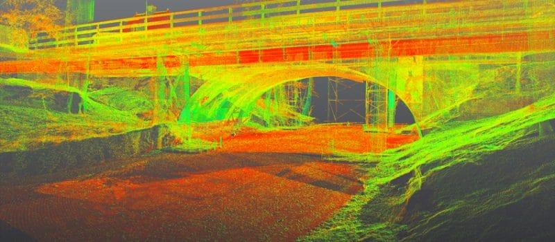 Pointcloud-brug-Naarden