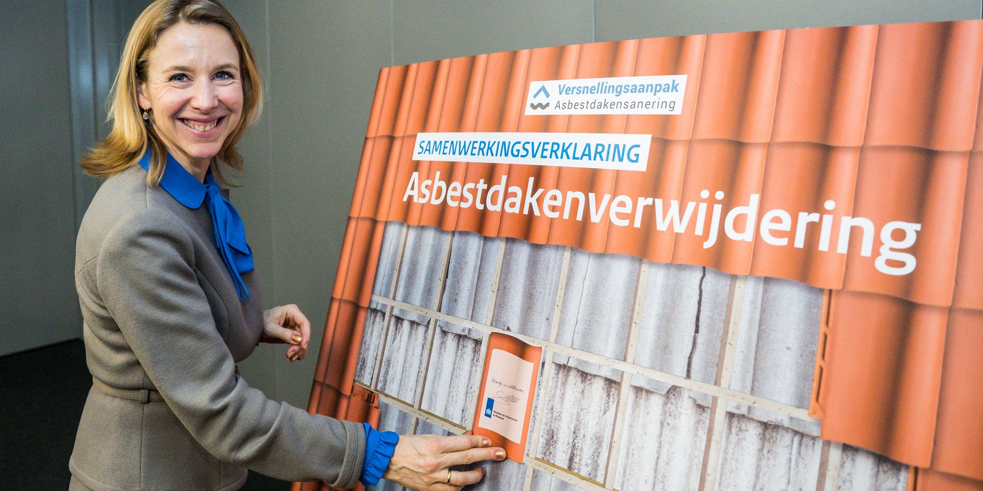 RPS zet handtekening onder Samenwerkingsverklaring Aanpak Asbestdaken