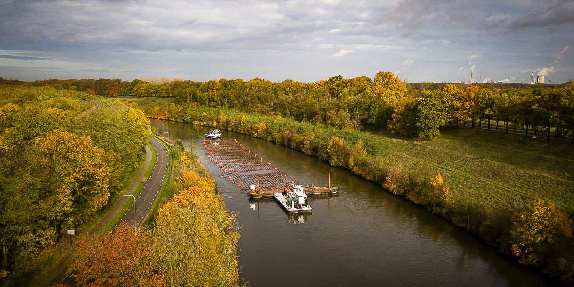 Vrachtschepen krijgen ruimte op Julianakanaal