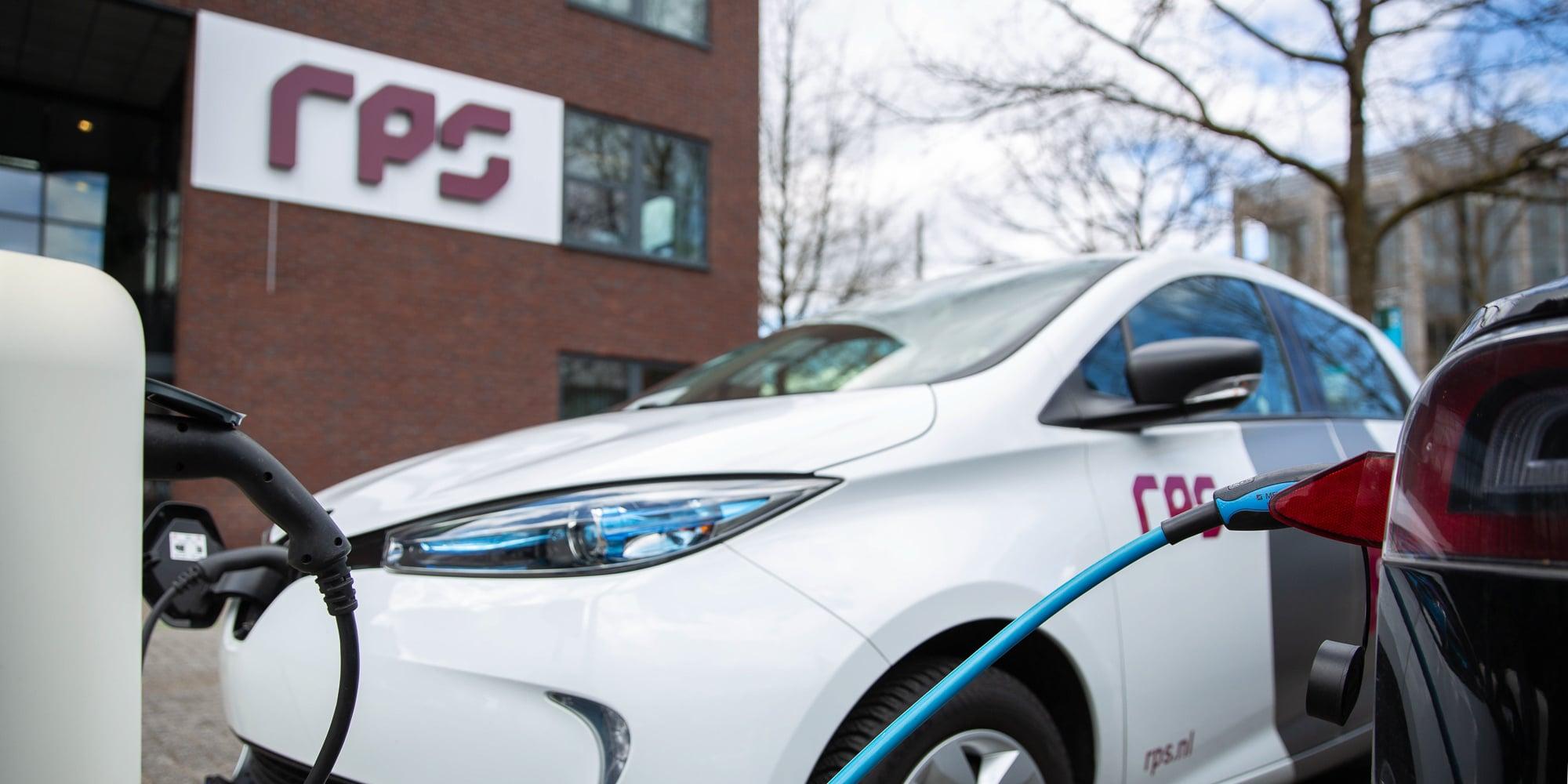 RPS elektrisch wagenpark ten behoeve van duurzaamheid